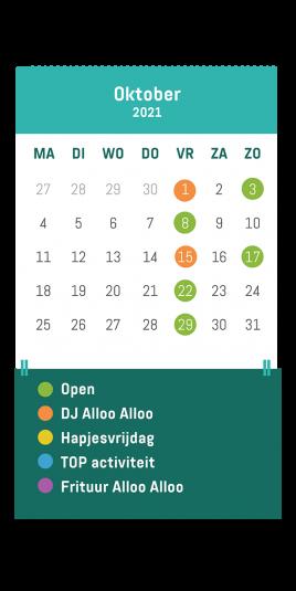 Café Alloo oktober