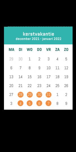 Kalender kerst VOLT