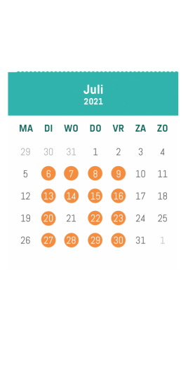 Zomer VOLT juli 2021