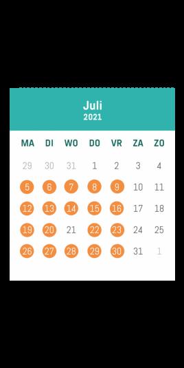 kalender speelplein aalst juli
