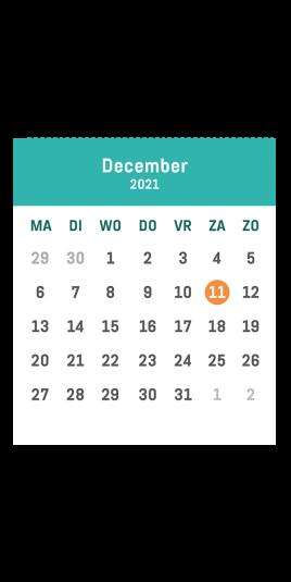 Minivoetbal 't verzet december