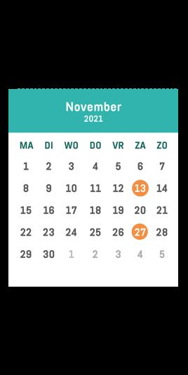 Minivoetbal 't verzet november